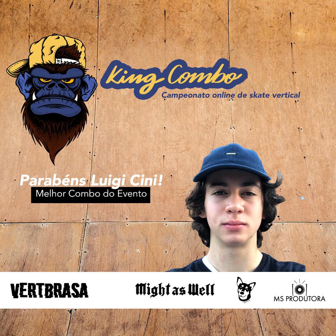 Luigi Cini - Melhor volta do King Combo
