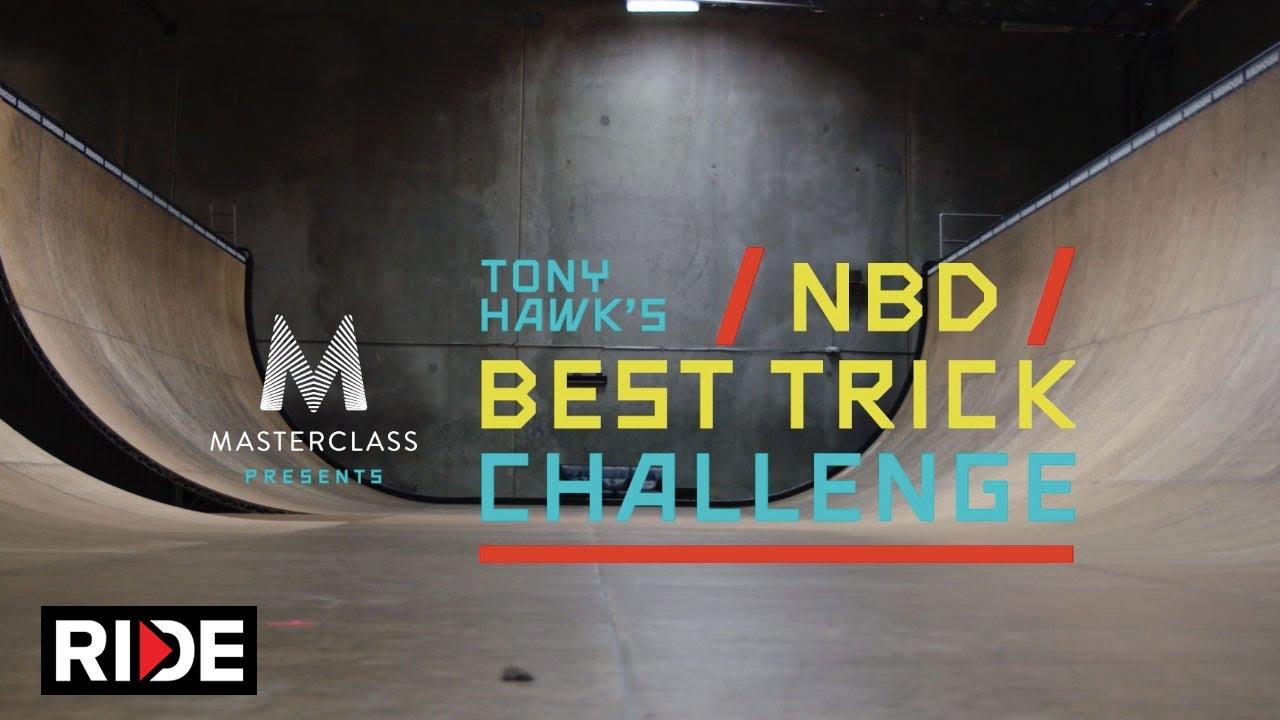 MasterClass Tony Hawk Best Trick Challenge