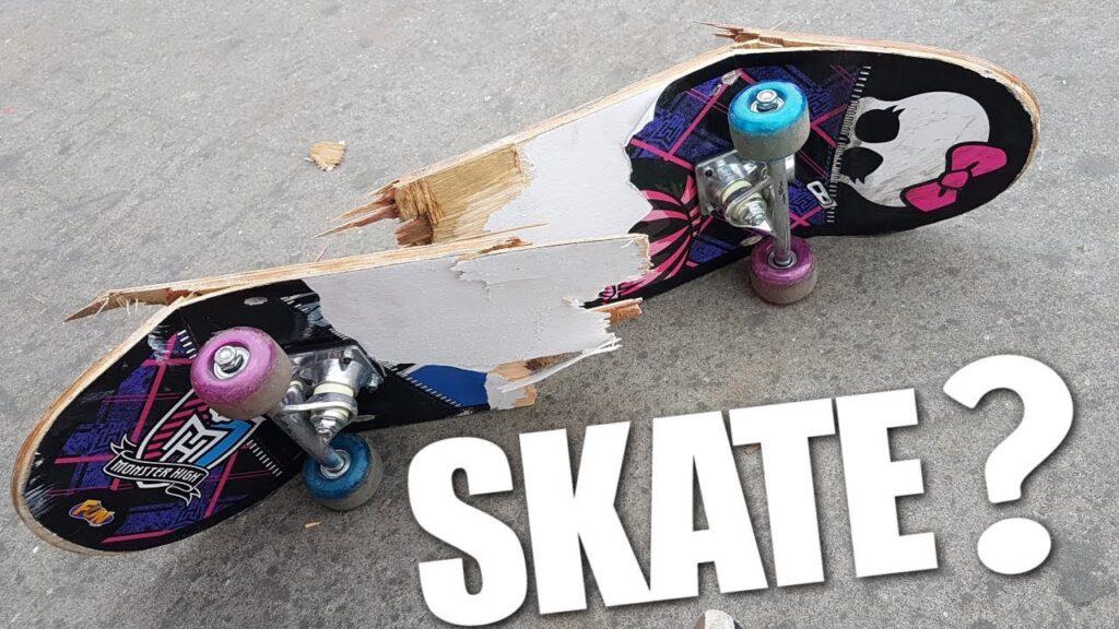 Skate ruim para montar